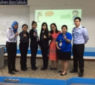 Teaching English to the Airport Search and Security Officers at MFU International Airport