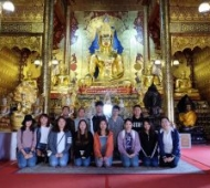 Thai Language and Culture Program's field trip
